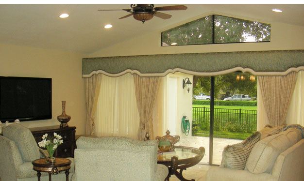 Shaped Cornice, Window Treatment